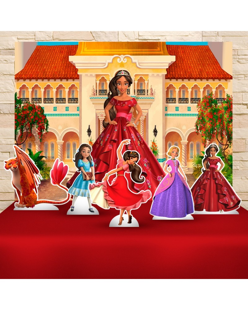 Kit Festa Elena de Avalor (Prata)