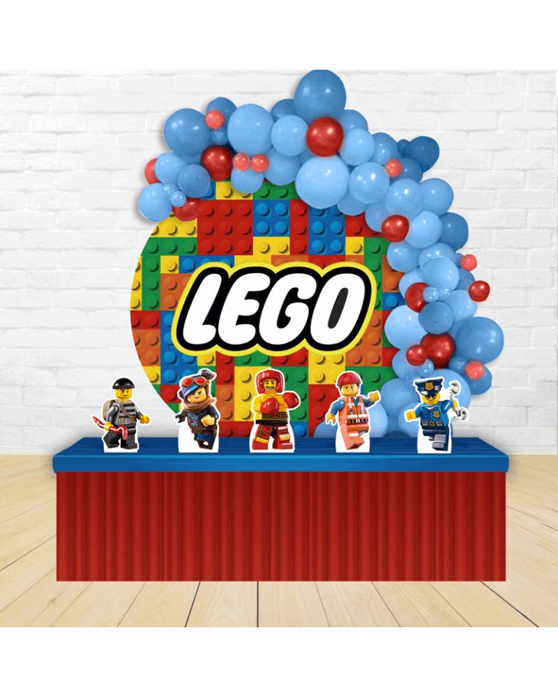 Kit Festa Redondo Lego