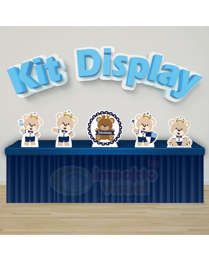 Kit Display Urso Príncipe