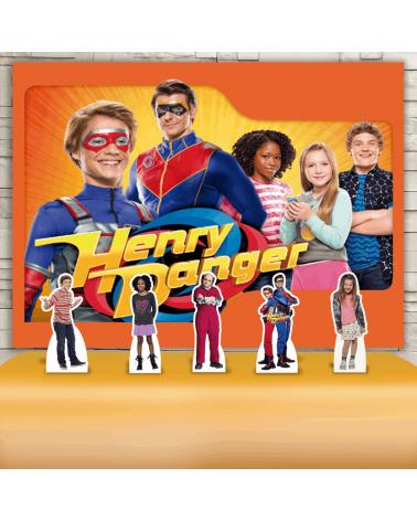 Kit Festa Henry Danger (Prata)