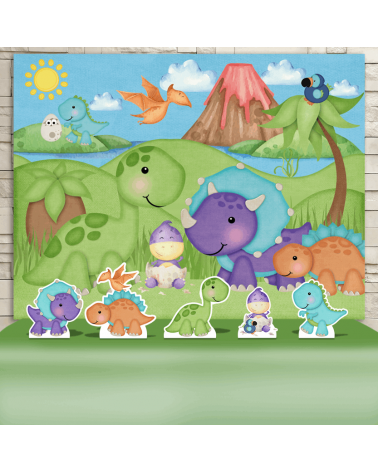 Kit Festa Dinossauros Baby...