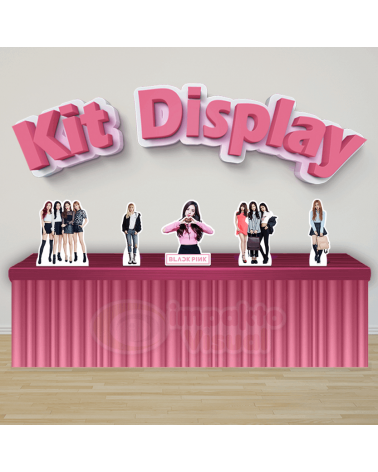 Kit Display Black Pink