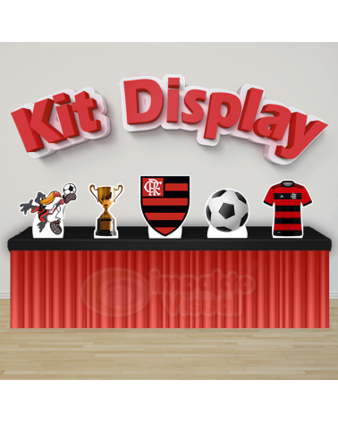 Kit Display Flamengo
