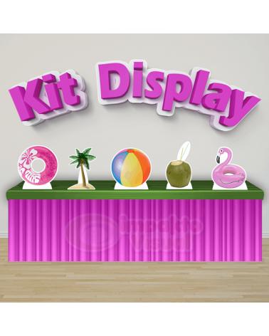 Kit Display Pool Party Rosa
