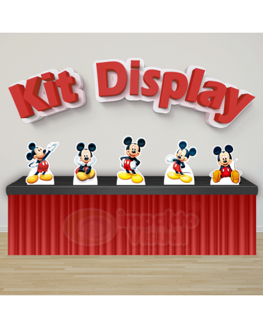 Kit Display Mickey Mouse