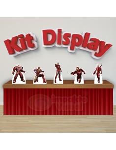 Kit Display Homem de Ferro