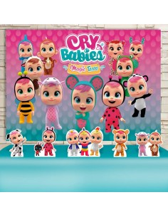 Kit Festa Cry Babies (Prata)