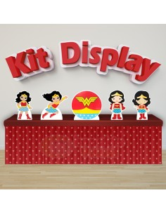 Kit Display Mulher...