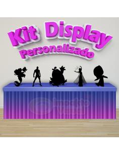 Kit Display Personalizado -...