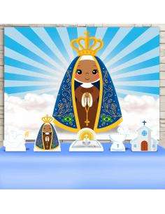 Kit Festa Nossa Senhora...