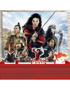 Kit Festa Mulan - Filme...