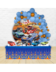 Kit Festa Redondo Hot Wheels