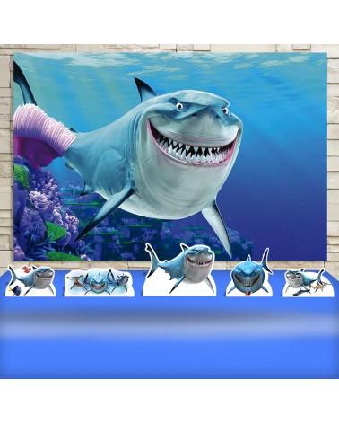 Kit Festa Tubarão Bruce...
