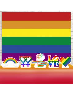 Kit Festa LGBT (Prata)