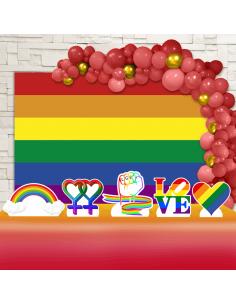 Kit Festa LGBT (Ouro)