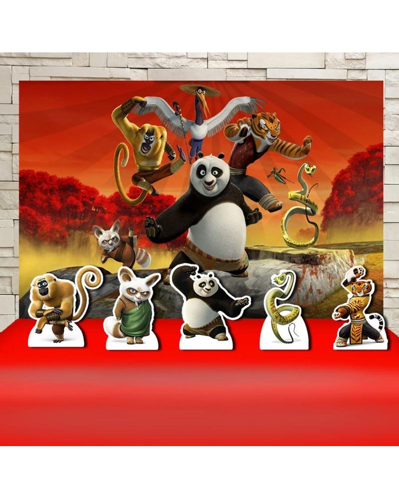 Kit Festa Kung Fu Panda  (Prata)