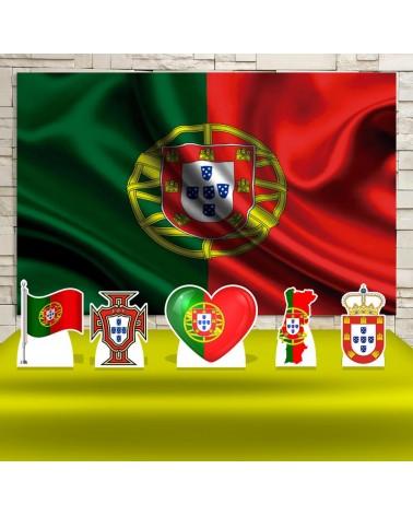 Kit Festa Portugal (Prata)
