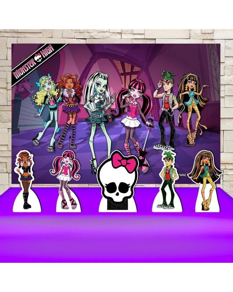 Kit Festa Monster High (Prata)