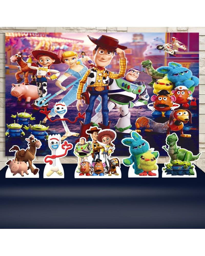 Kit Festa Toy Story 4 (Prata)