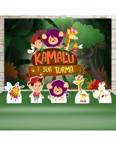 Kit Festa Kamalu e sua...