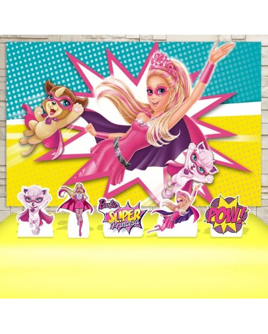 Kit Festa Barbie Super...