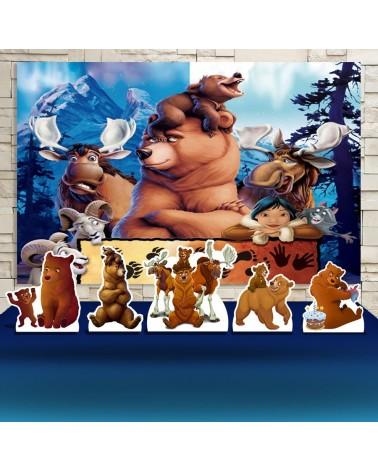 Kit Festa Irmão Urso (Prata)