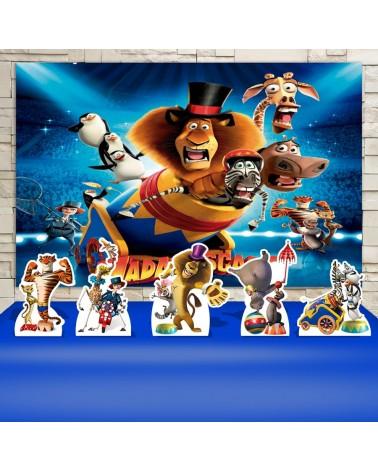 Kit Festa Madagascar Circo...