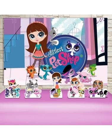 Kit Festa Littlest Pet Shop...