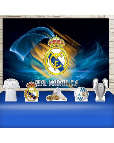 Kit Festa Real Madrid (Prata)