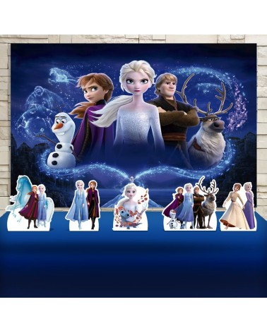 Kit Festa Frozen 2 (Prata)