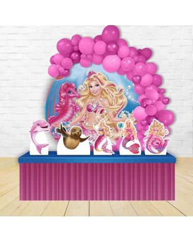 Kit Festa Redondo Barbie...