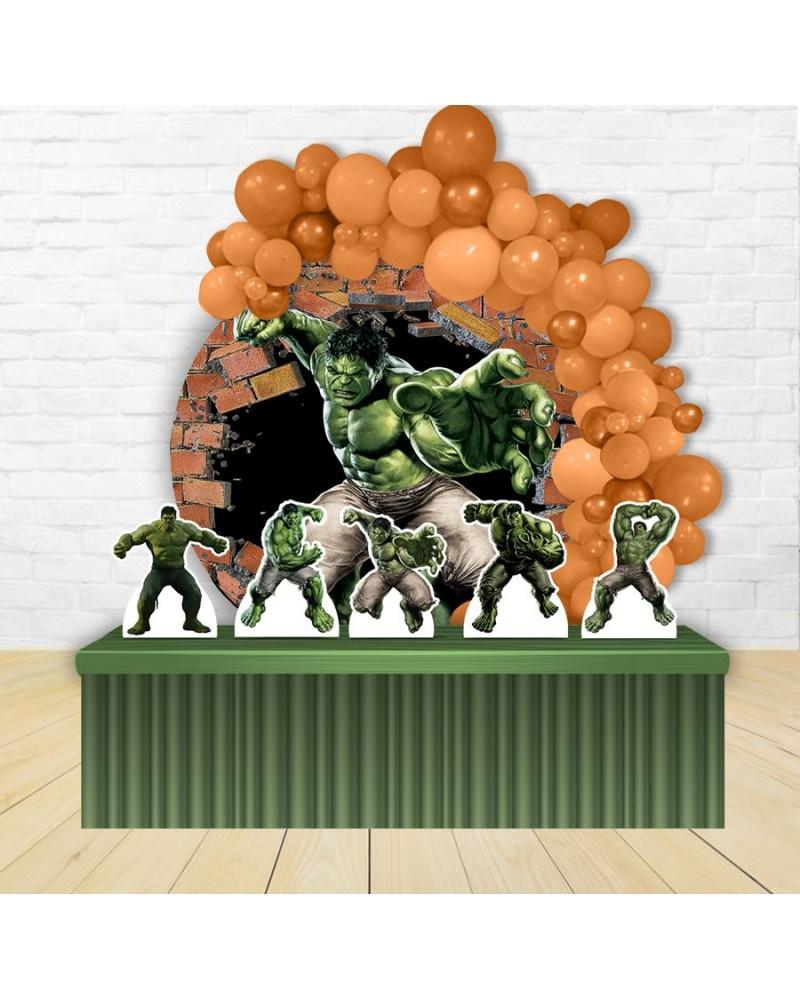 Kit Festa Redondo Hulk