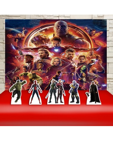Kit Festa Os Vingadores:...
