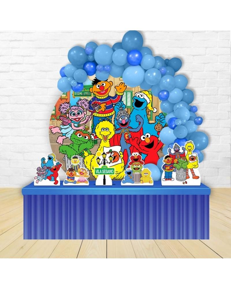 Painel para decoração de festa com o tema Dragon Ball