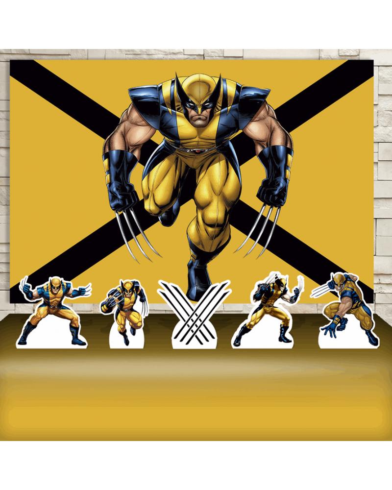 Kit Festa Wolverine (Prata)