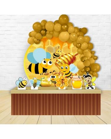 Painel para decoração de festa infantil com o tema Vingadores
