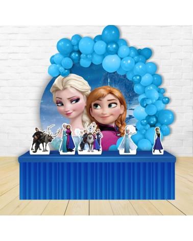 Painel para decoração de festa com o tema Dora Aventureira
