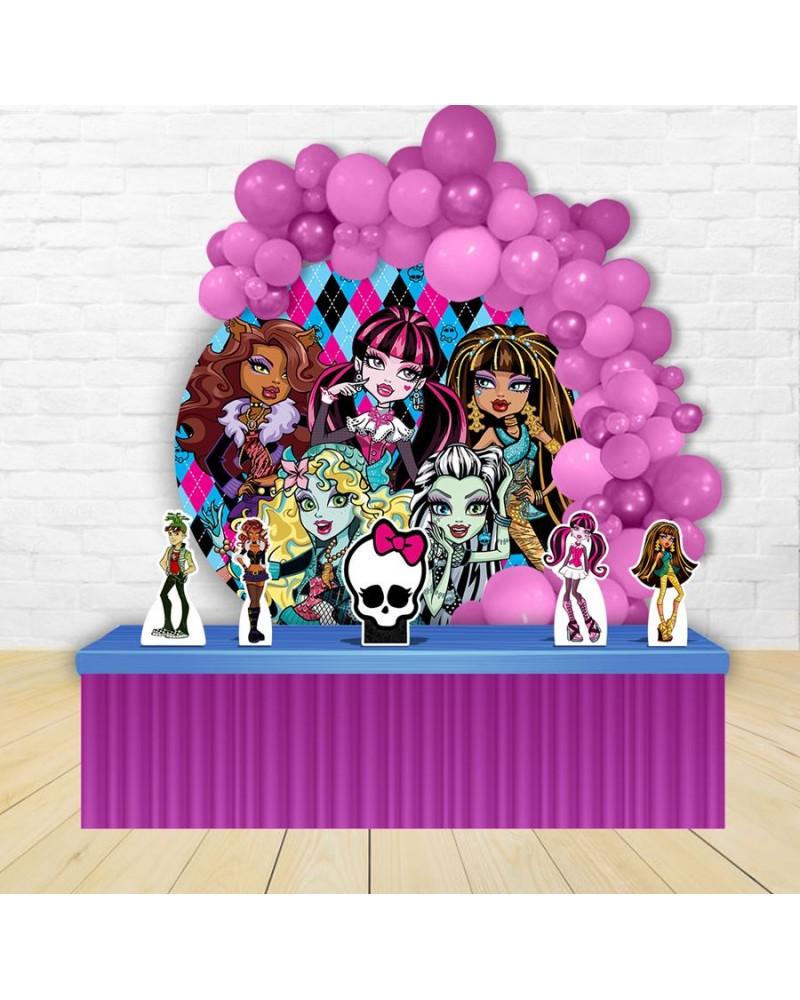Kit Festa Redondo Monster High