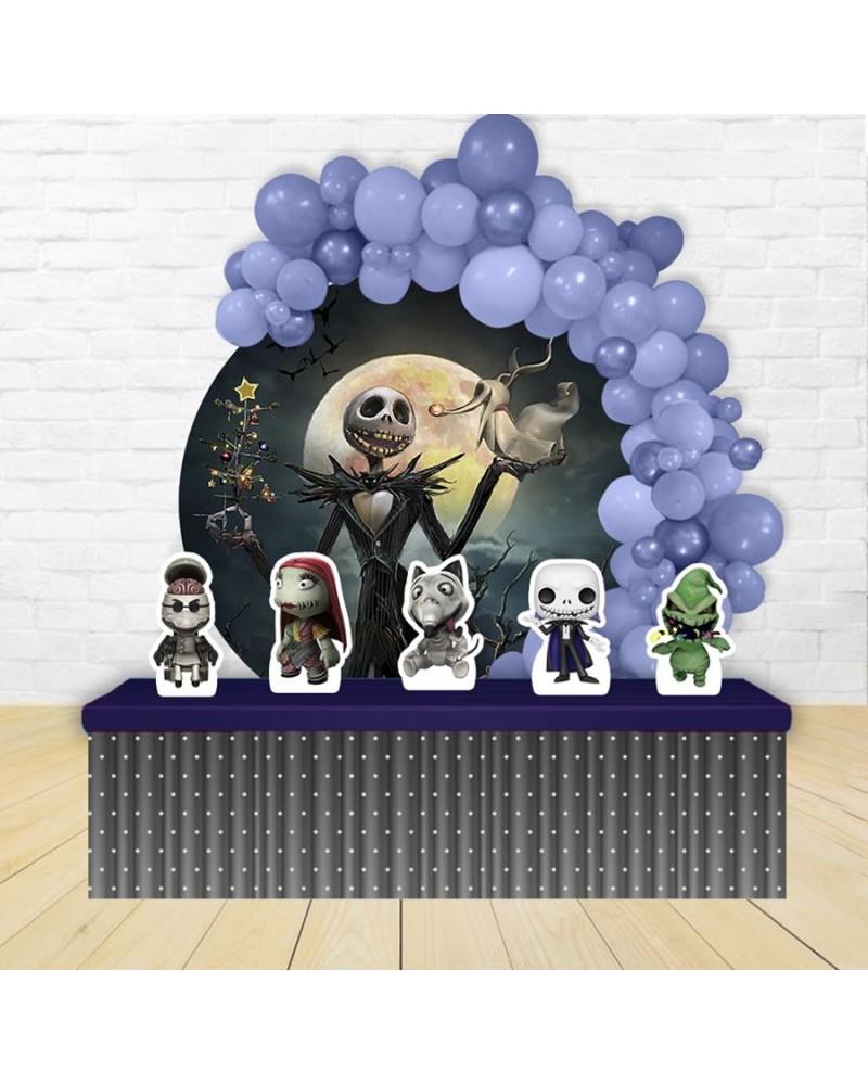 Painel para decoração de festa com o tema Enrolados