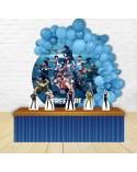 Painel para decoração de festa com o tema Dinossauros