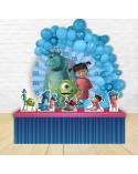 Painel para decoração de festa com o tema Bubble Guppies