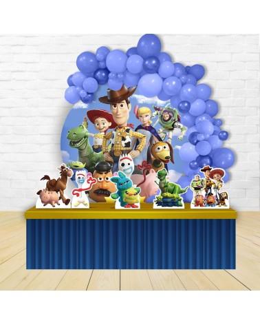 Kit Festa Redondo Toy Story 4