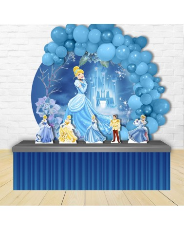 Painel para decoração de festa com o tema Backyardigans