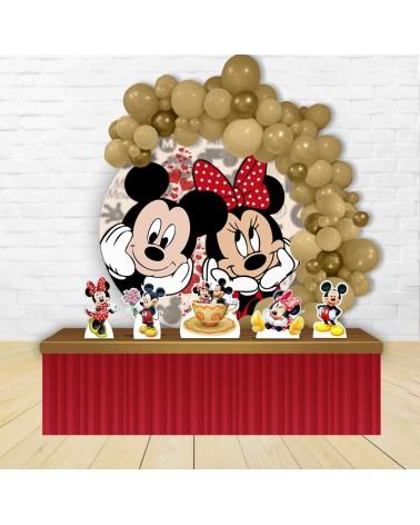 Kit Festa Redondo Mickey e...