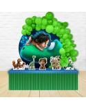Painel para decoração de festa infantil com o tema Valente