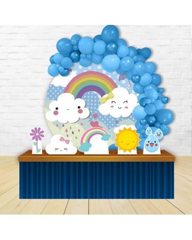 Painel para decoração de festa infantil com o tema Turma da Disney