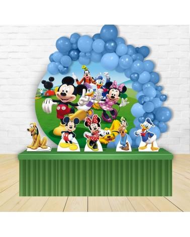 Kit Festa Redondo Disney Turma