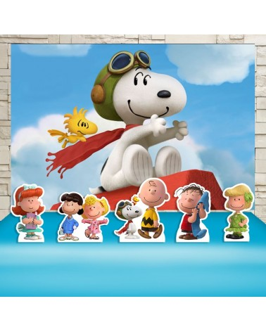 Kit Festa Snoopy (Prata)