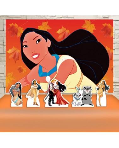 Kit Festa Pocahontas (Prata)