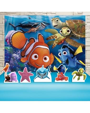 Kit Festa Procurando Nemo...